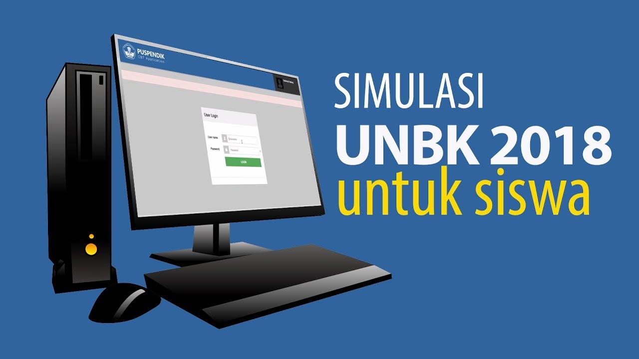 Jadwal Pelaksanaan Simulasi UNBK II TP. 2017-2018