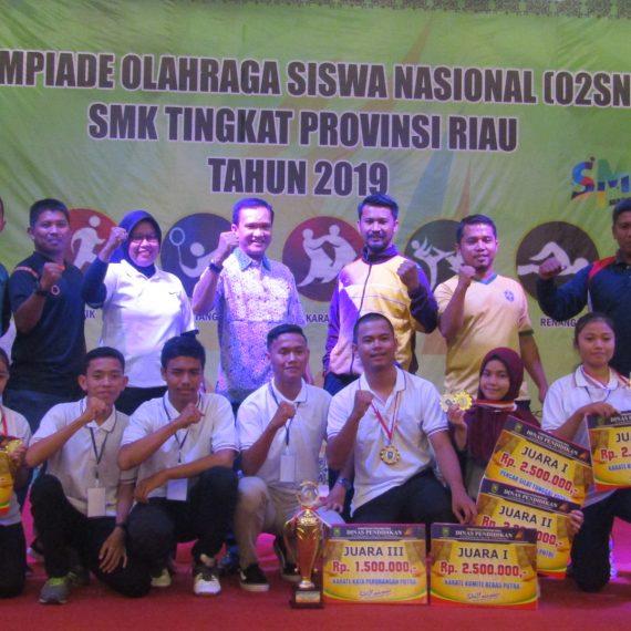 O2SN Renang SMK 2019 Tingkat Provinsi Riau