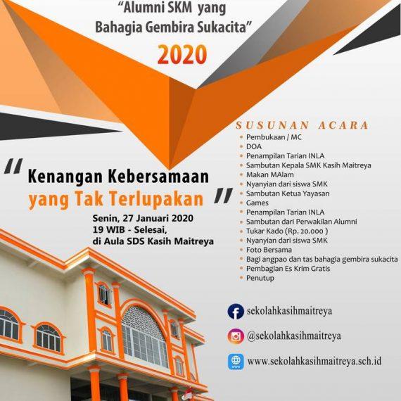 Undangan Reuni Akbar 2020